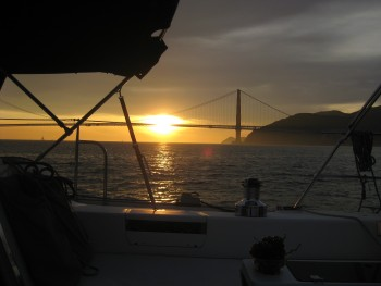 san francisco bay sunset c