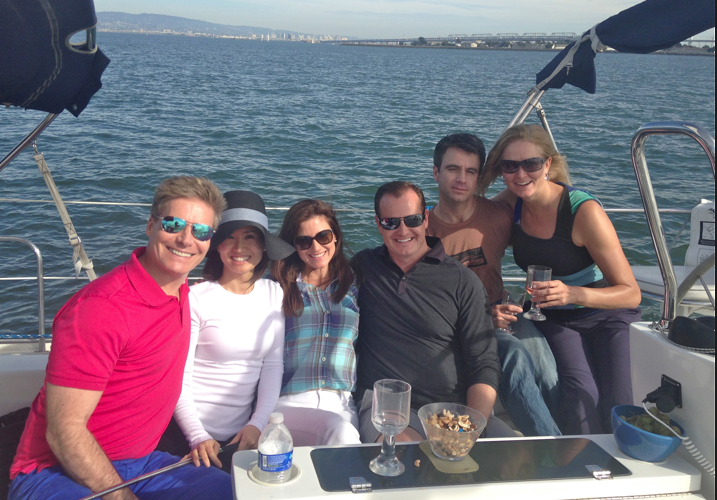 sailing charter on San Francisco Bay
