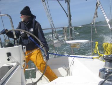 Sailing San Francisco racing