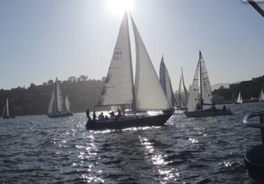 Sailing sf Bay Friday Night