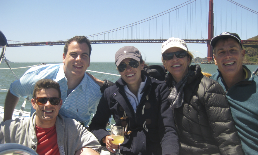 Morrisons sailing san francisco bay on mothers day