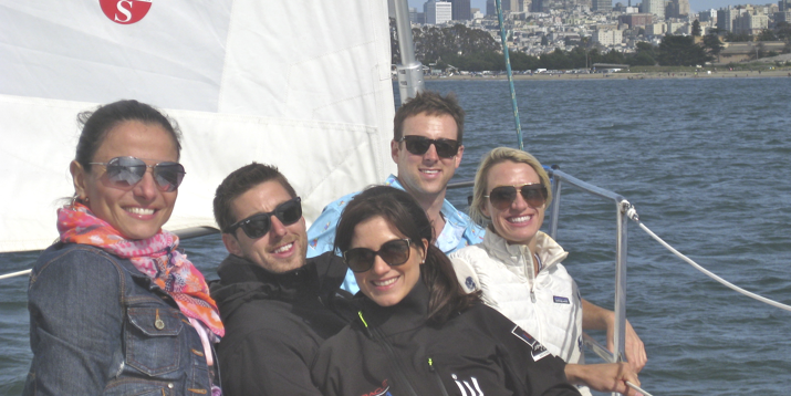 sailing sf bay