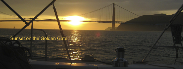 Sunset on the Golden Gate