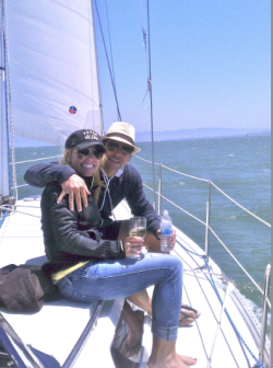 sailing Sausalito to Angel Island