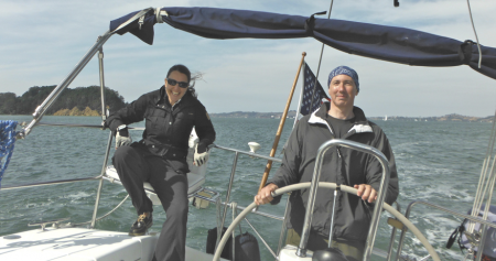 sailing charters  san francisco with Eva