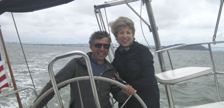 sailing with ian and coralie