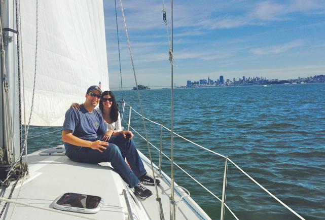 sailing sf bay with Bagleys