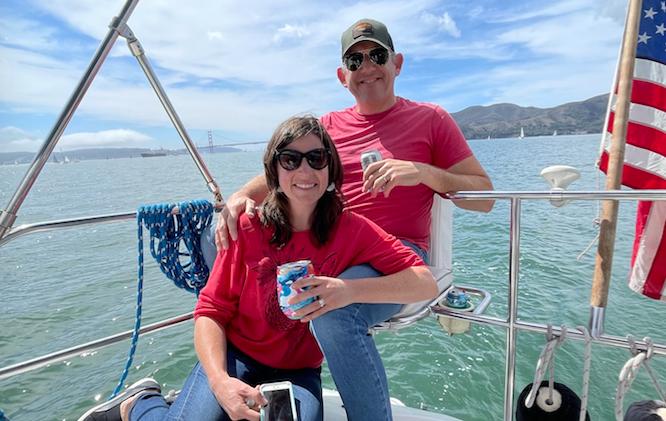 Sailing from Sausalito